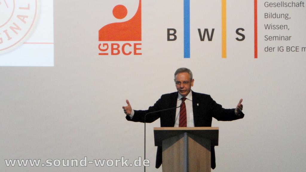 Demografie-Tagung der IG BCE / BWS - Michael Vassiliadis - 06.06.2013