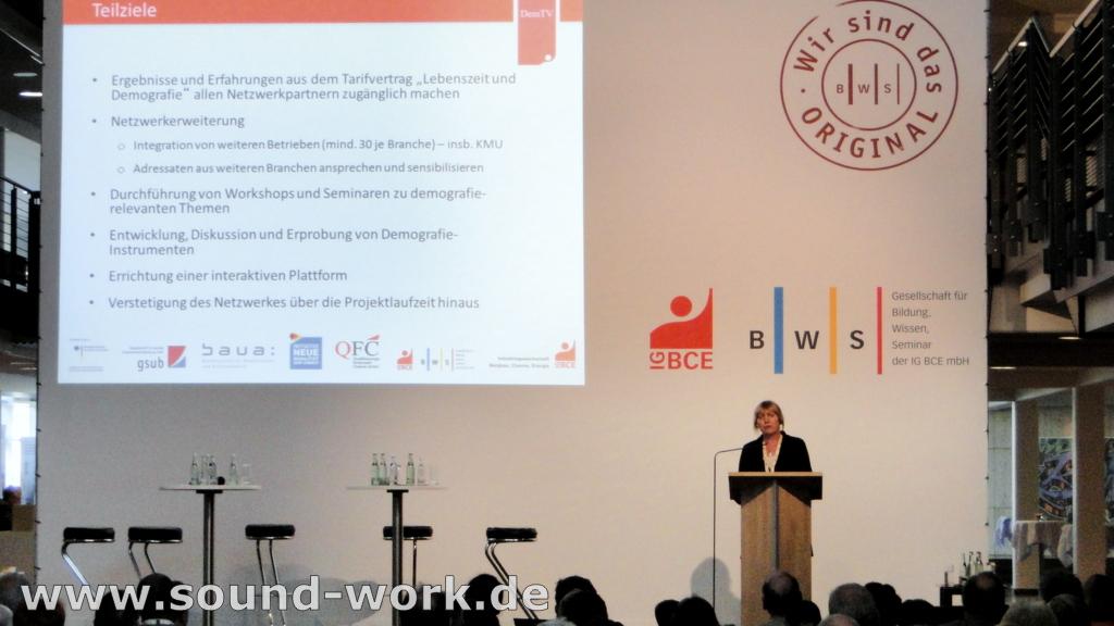 Demografie-Tagung der IG BCE / BWS - Projektverbund - 06.06.2013
