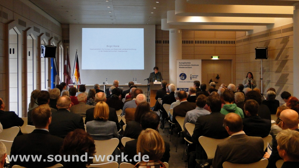 Lettlands Beitritt zum Euro - Veranstaltung des EIZ in der Deutschen Bundesbank Hauptverwaltung Hannover - 08.11.2013