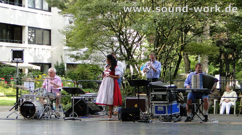 Eilenriedestift - Sommerfest - Dick und Durstig - 14.08.2013