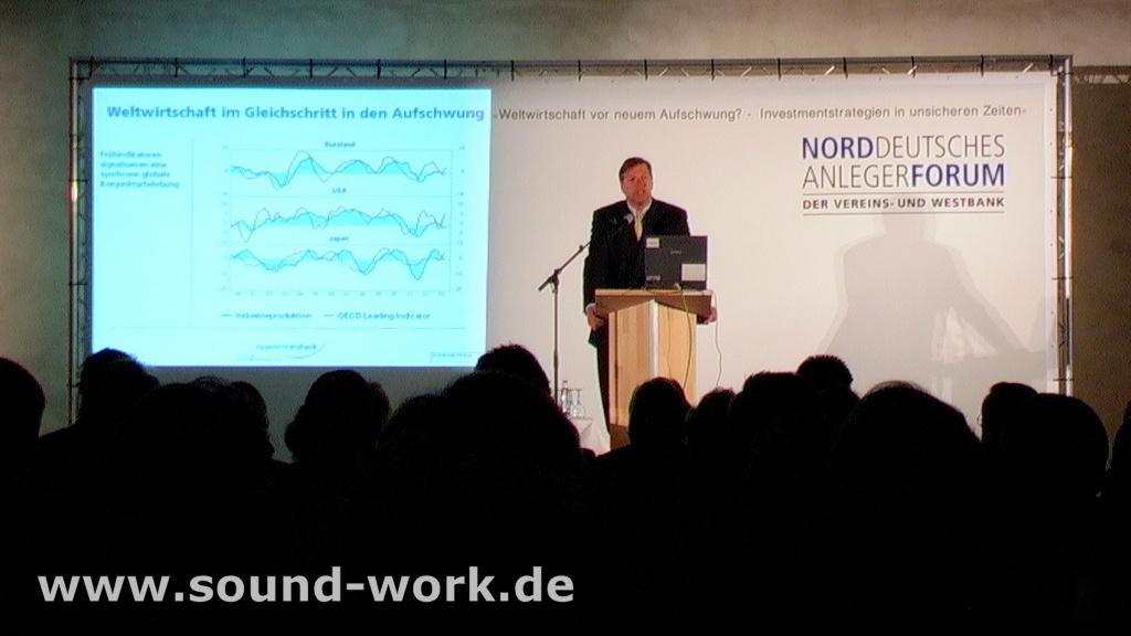 Norddeutsches Anlegerforum der Vereins- und Westbank - 22.10.2003 - Hannover