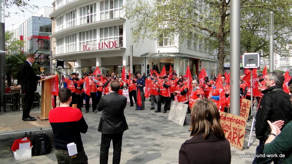 IG Metall - Kundgebung - Jungenthal - Platz der Weltausstellung - 23-04-2014
