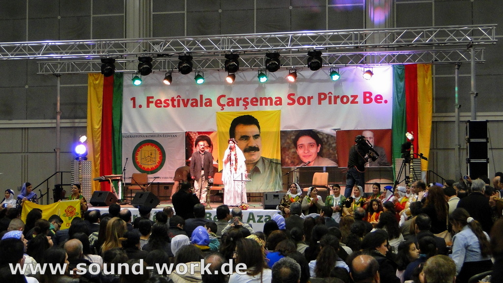 1. Çarşema Sor Festival - Neujahrsfest - Roter Mittwoch - Eilenriedehalle des HCC - Hannover - 20.04.2013