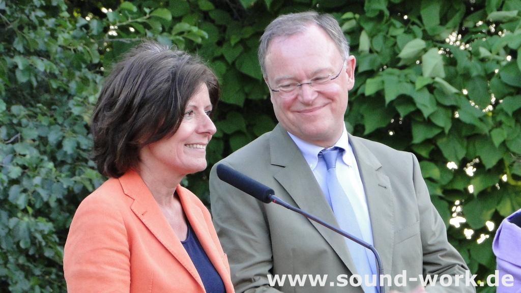SPD - Sommerfest - Malu Dreyer - Stephan Weil - 26.08.2013