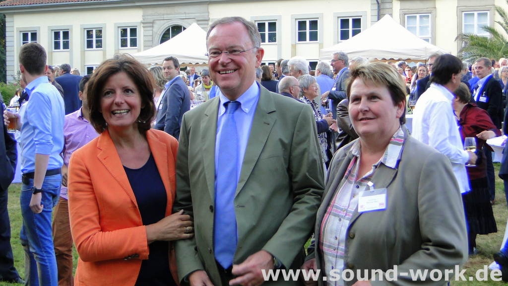 SPD - Sommerfest - Malu Dreyer - Stephan Weil - Johanne Modder - 26.08.2013