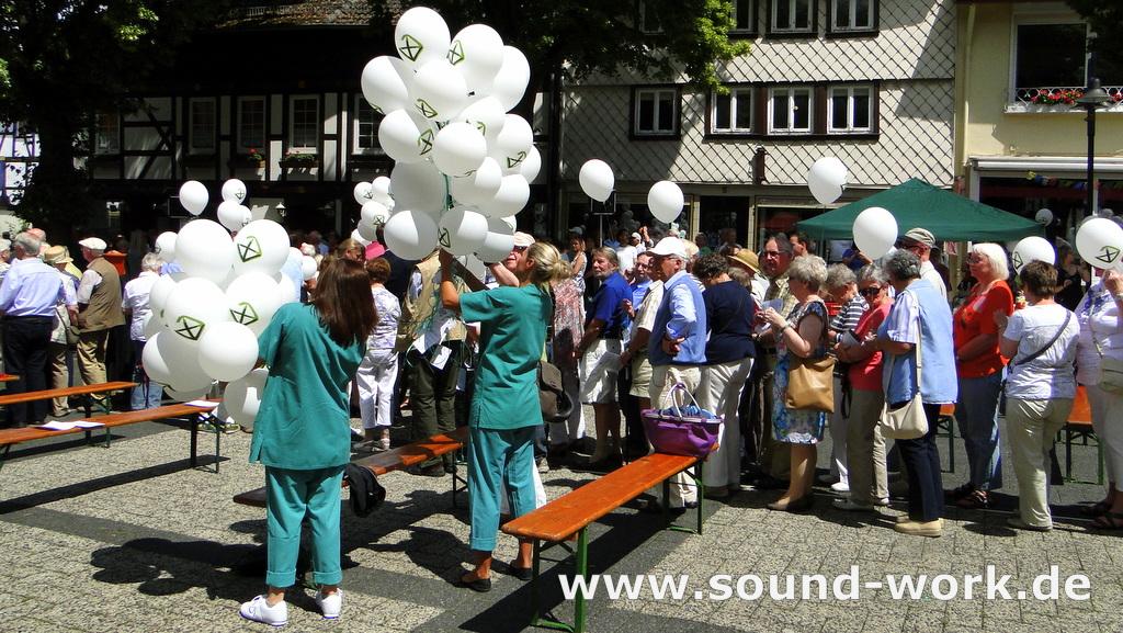 Bittgottesdienst für den Neubau des St. Elisabeth Krankenhauses in Bad Salzgitter - 06.07.2014