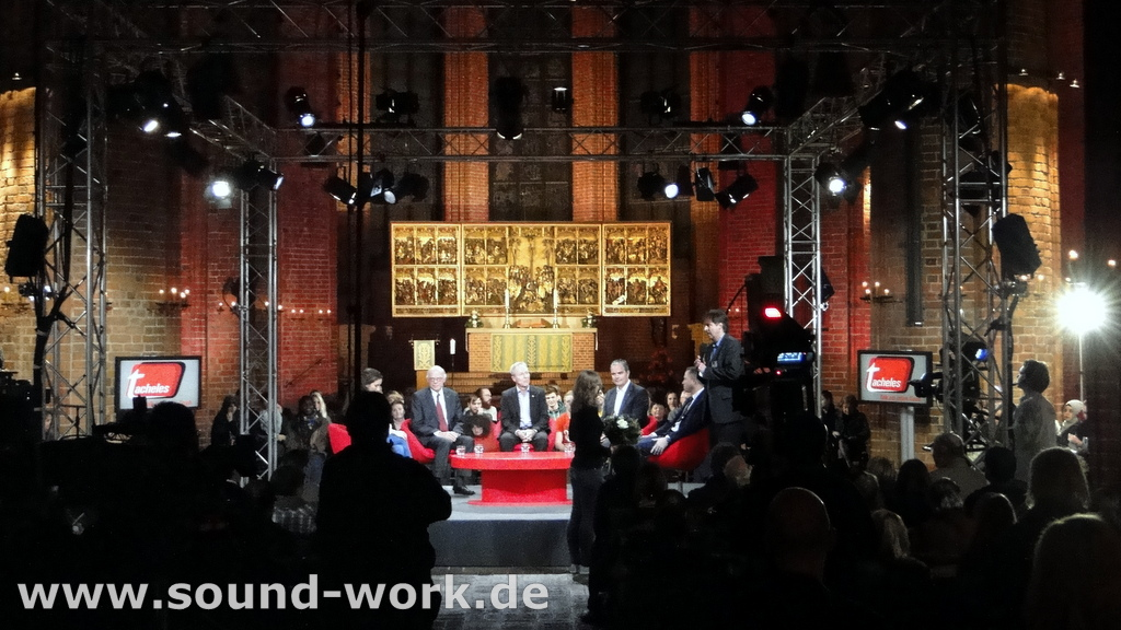 TACHELES - Talk am roten Tisch - Marktkirche Hannover - 19.11.2013