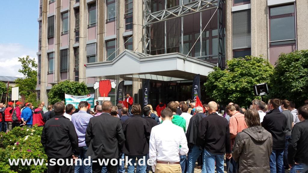 Unify - Beschäftigte wehren sich! - Sascha Dudzik - IG Metall