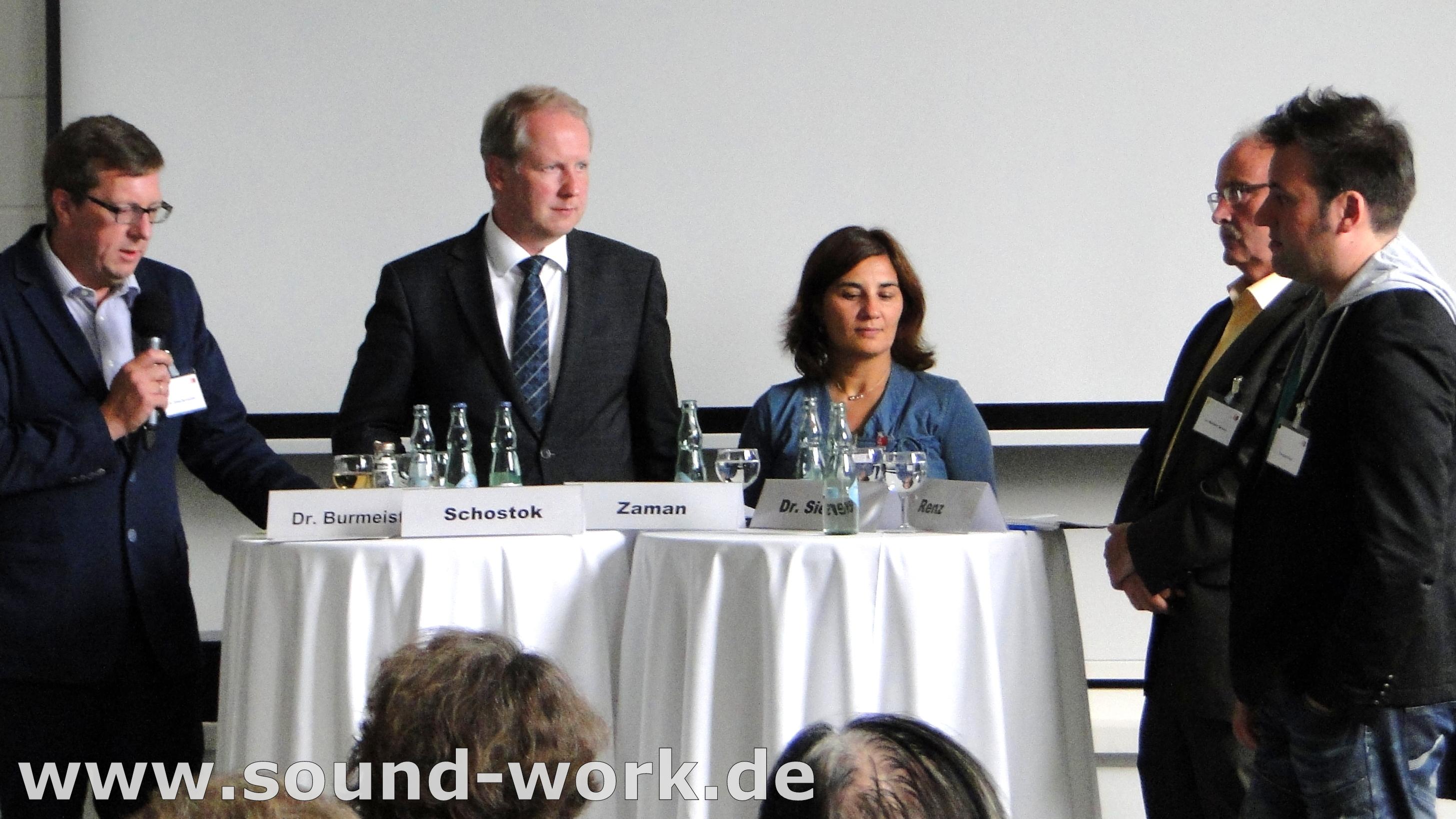 Podiumsdiskussion -Thema Kulturelle Teilhabe
