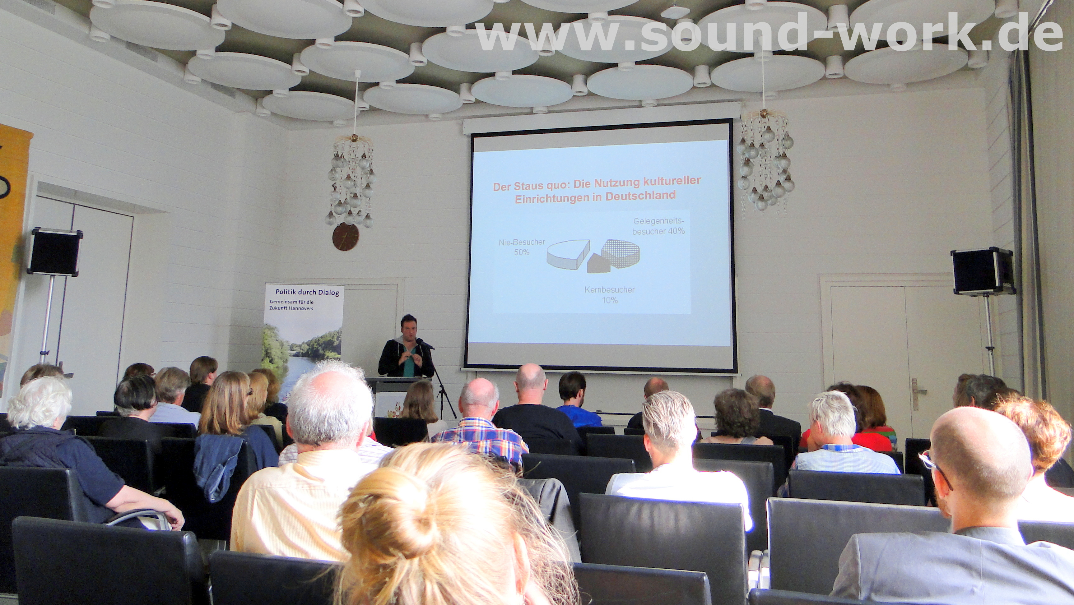 Vortrag - Nutzung kultureller Einrichtungen in Deutschland