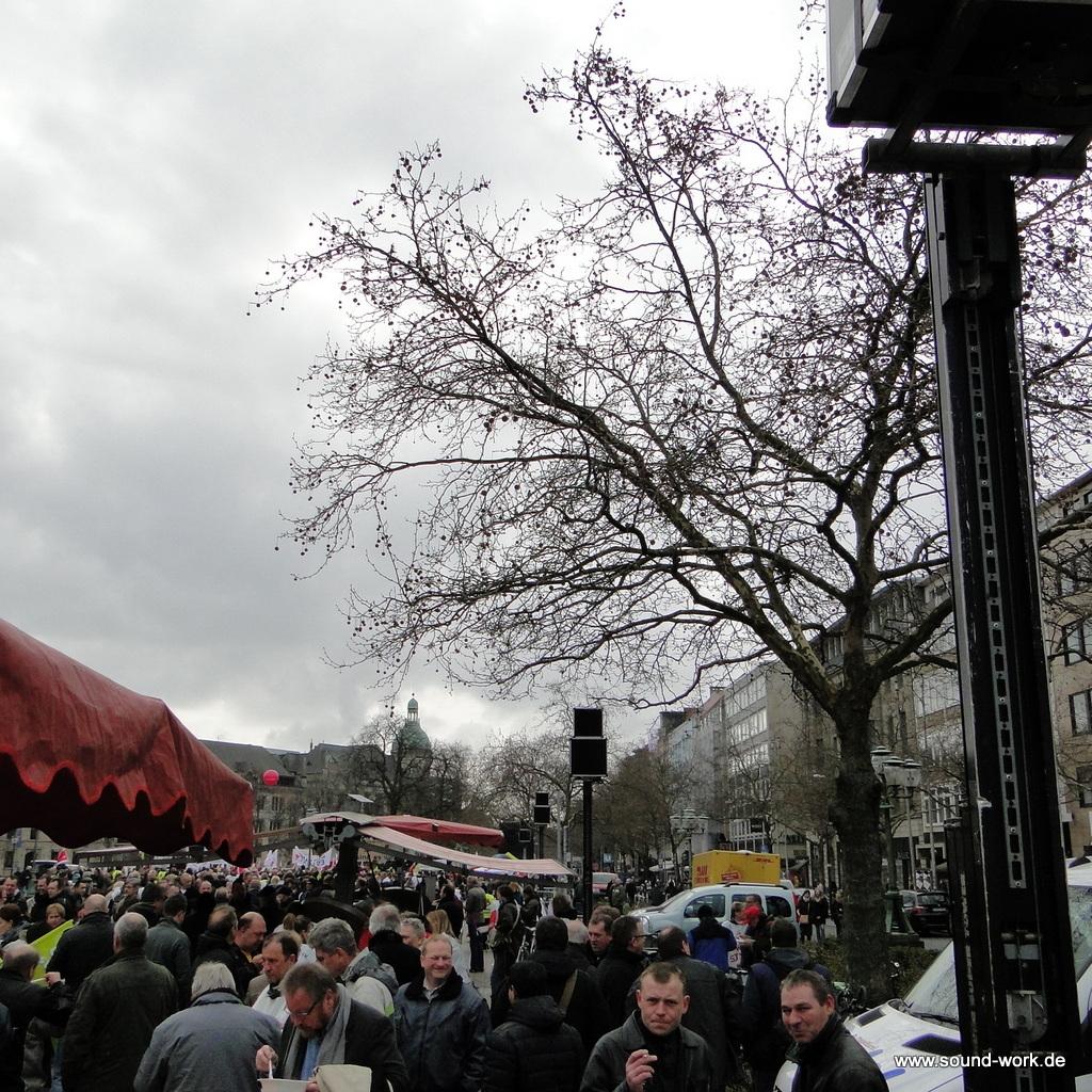 ver.di - Kundgebung - Opernplatz - Hannover - Delayline - sound-work